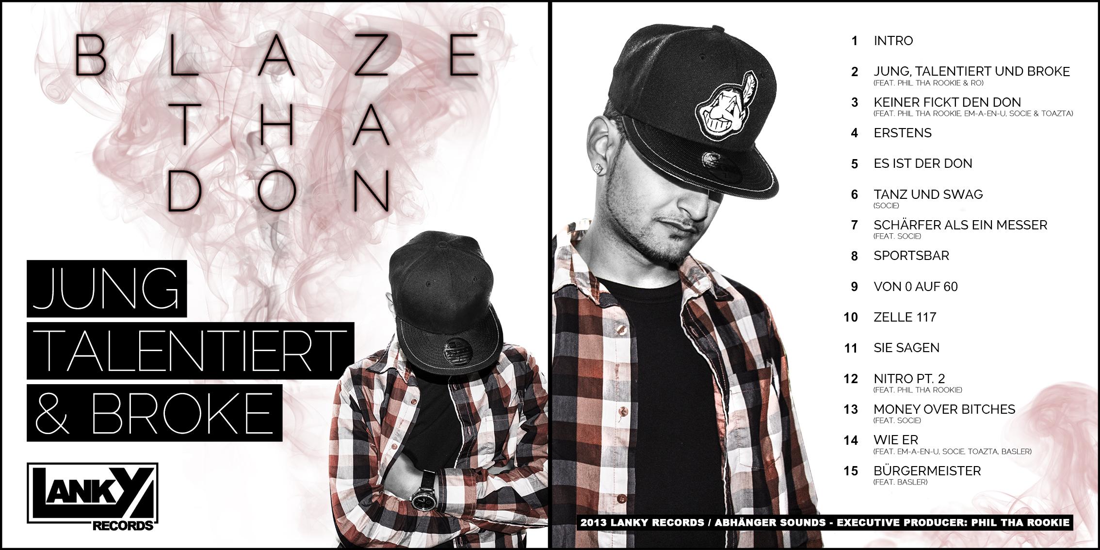 Blaze Tha Don - Jung, talentiert und broke (Cover)